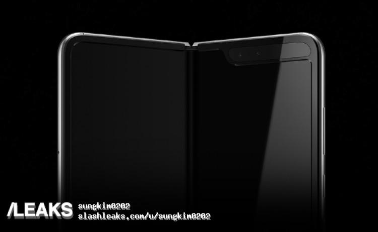 Galaxy Fold zadní strana