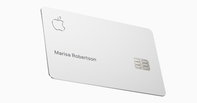 Apple Card, designed by Apple
