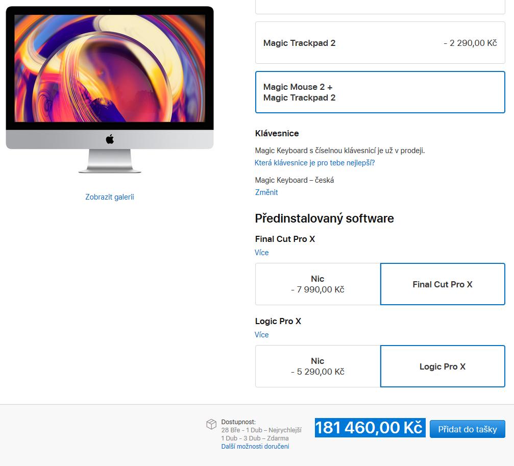 iMac cena