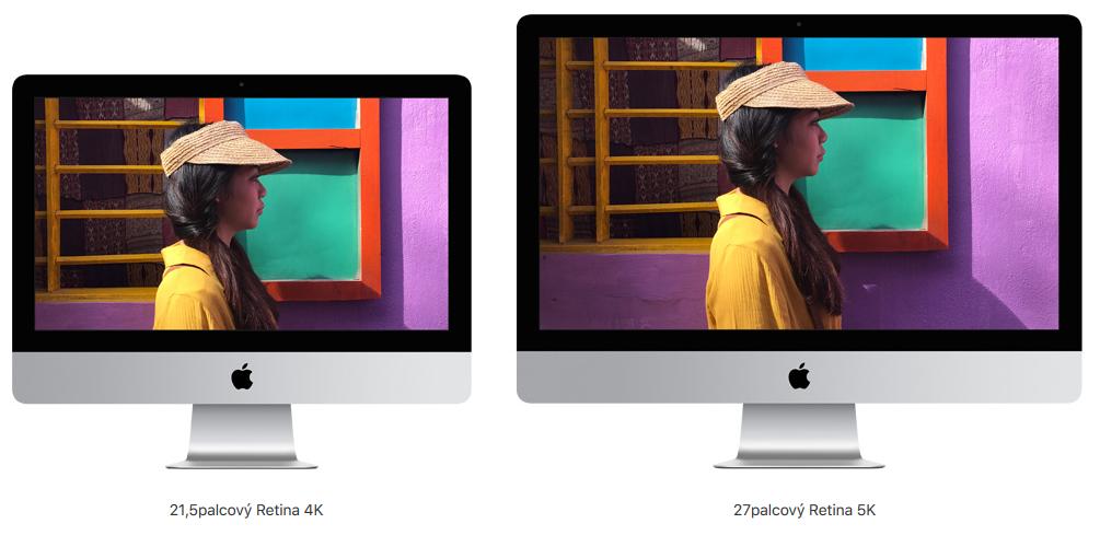 "iMac 21,5"" a iMac 27"""
